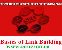 Basics of Link Building - Cancron inc