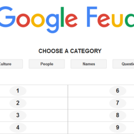 Google Feud – A Game Which Teaches Players Unthinkable Search Terms