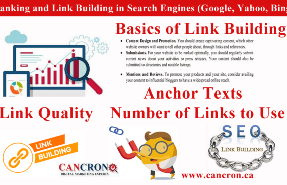 Role of Ranking and Link Building in Search Engines (Google, Yahoo, Bing)
