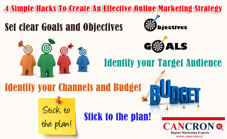 4 Simple Hacks To Create An Effective Online Marketing Strategy