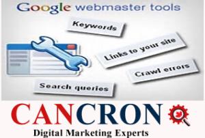 Google Webmaster Tools Cancron inc