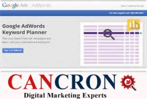 Google keyword Planner Cancron inc