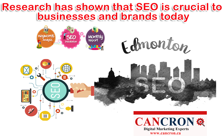 Research has shown that SEO services in Edmonton is crucial to businesses and brands today