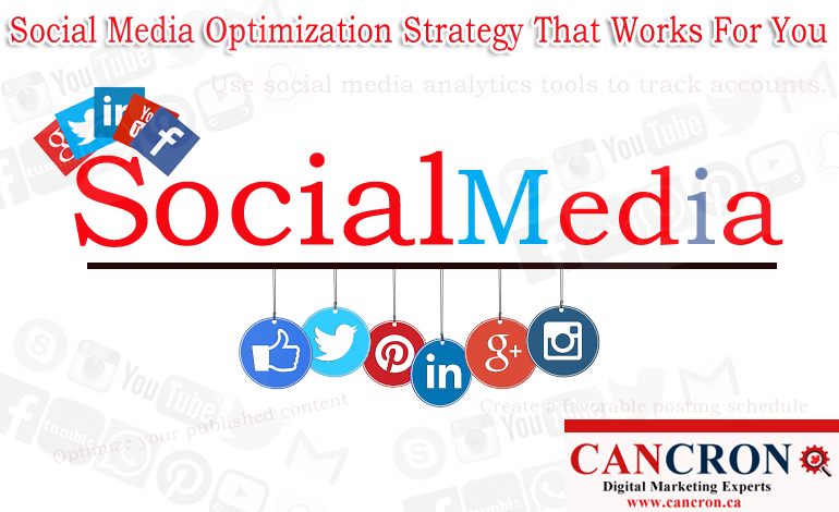 Social Media Optimization Strategy That Works For You