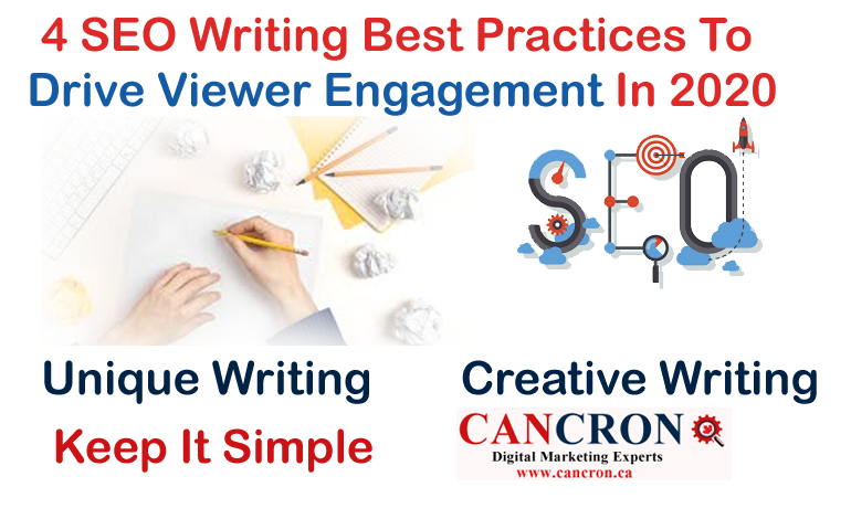 4 SEO Writing Best Practices To Drive Viewer Engagement In 2020
