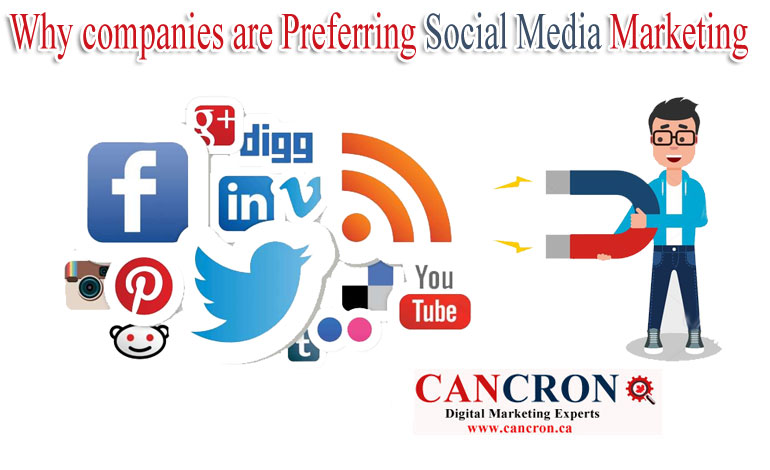 Why companies are Preferring Social Media Marketing