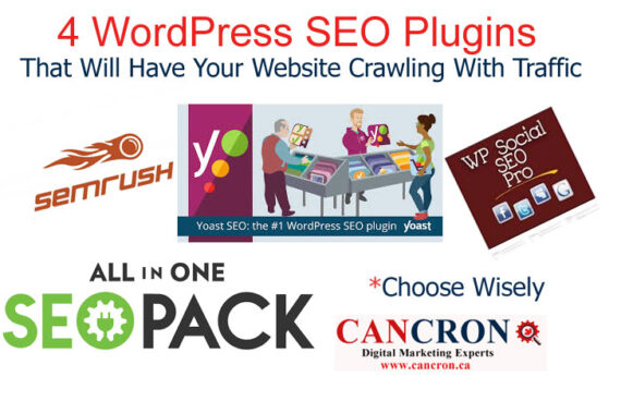 4 WordPress SEO Plugins That Will Have Your Website Crawling With Traffic