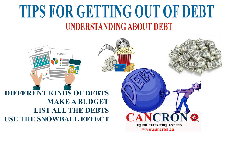 TIPS FOR GETTING OUT OF DEBT – UNDERSTANDING ABOUT DEBTS